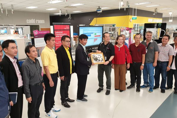 Visit by delegates of Thai Universities - B3