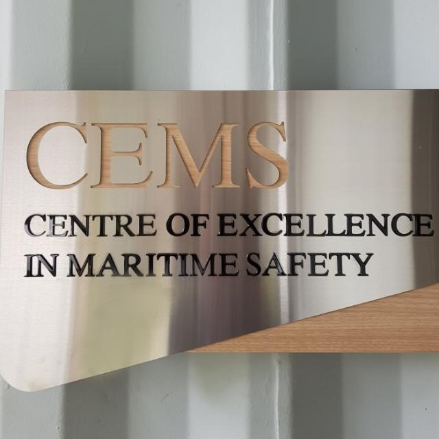 Centre CEMS Contact Us - CEMS Signboard